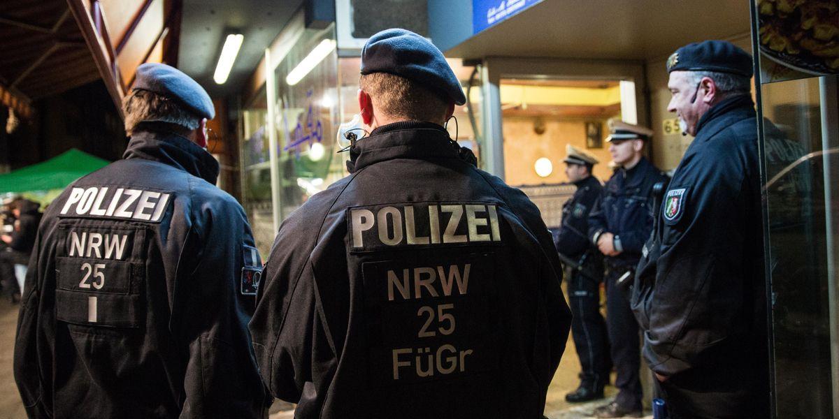 Nrw Polizei Duesseldorf Dpa