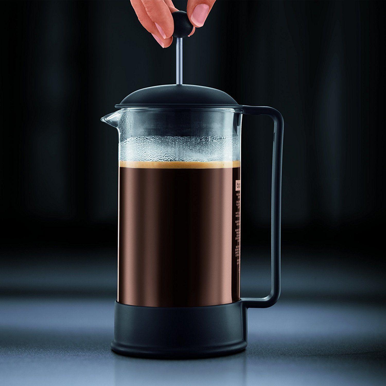 Shoppingliste Kaffee Bodum