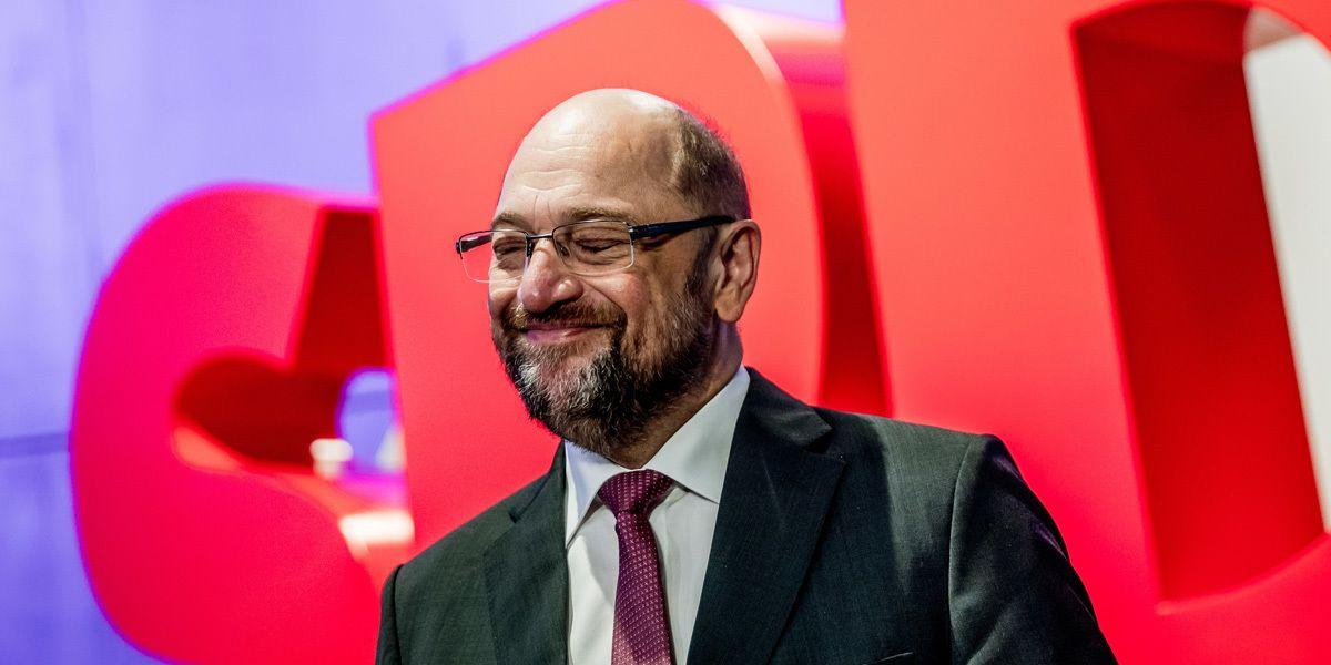 Martin Schulz Spd Parteitag Dpa