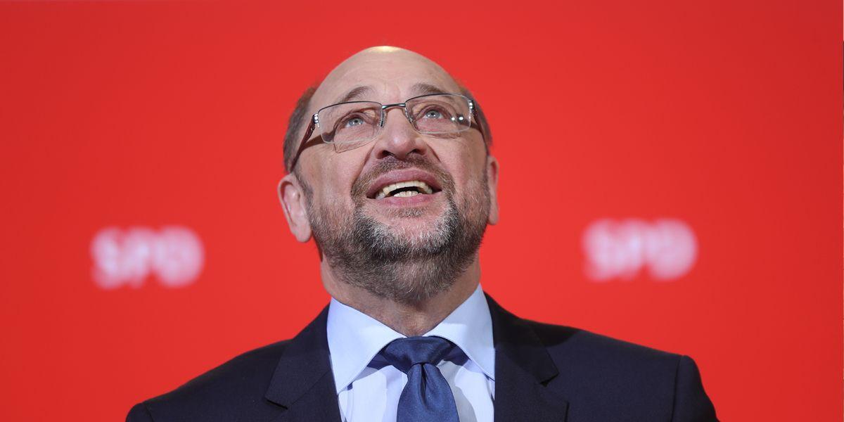 Martin Schulz Sondierung Dpa