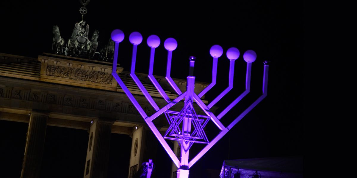 Chanukkia Berlin