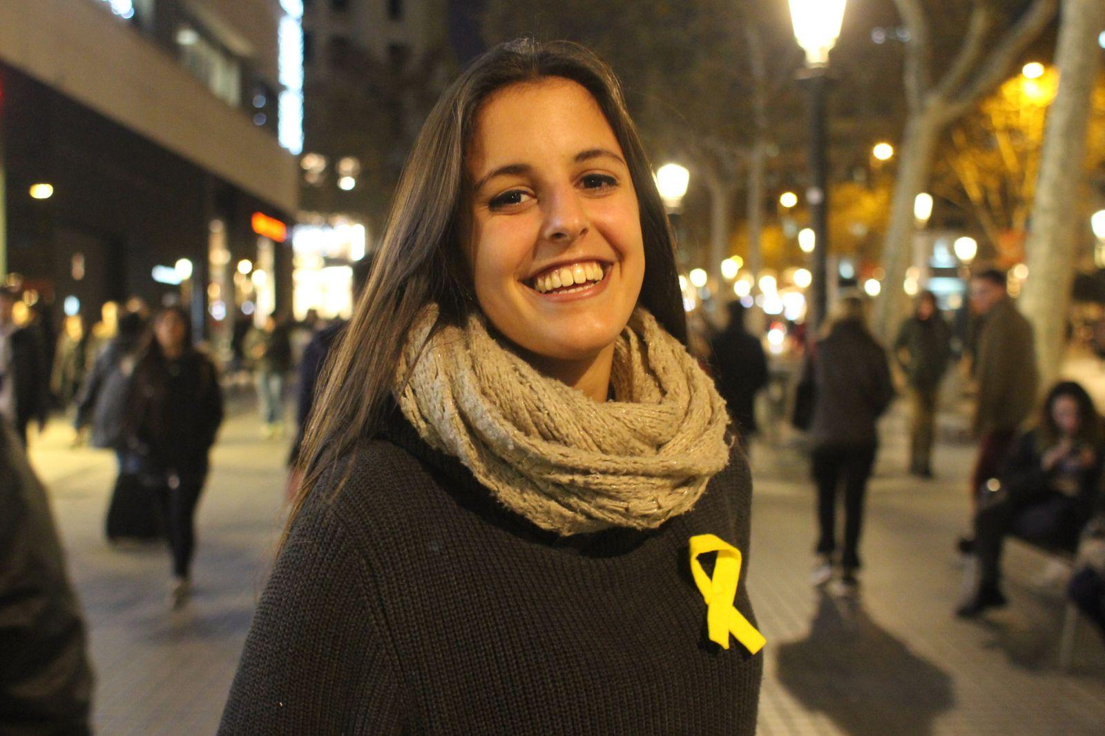 Gisela Abella 18 Separatistin