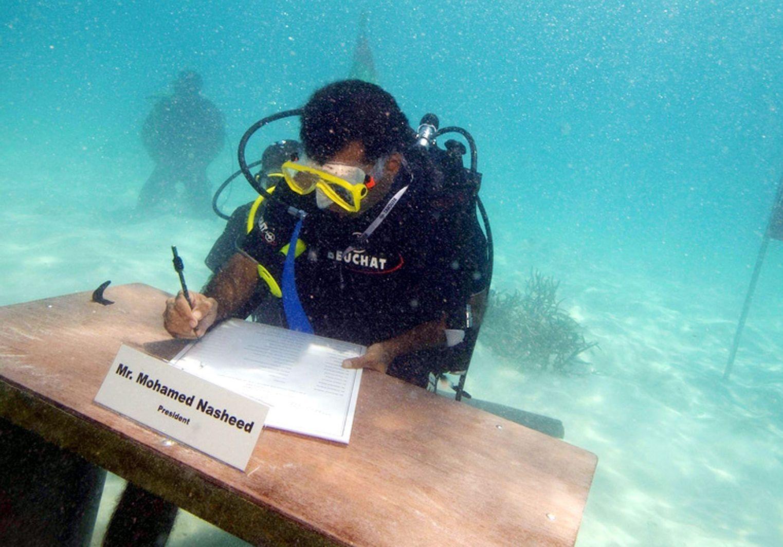 Mohamed Nasheed Dpa