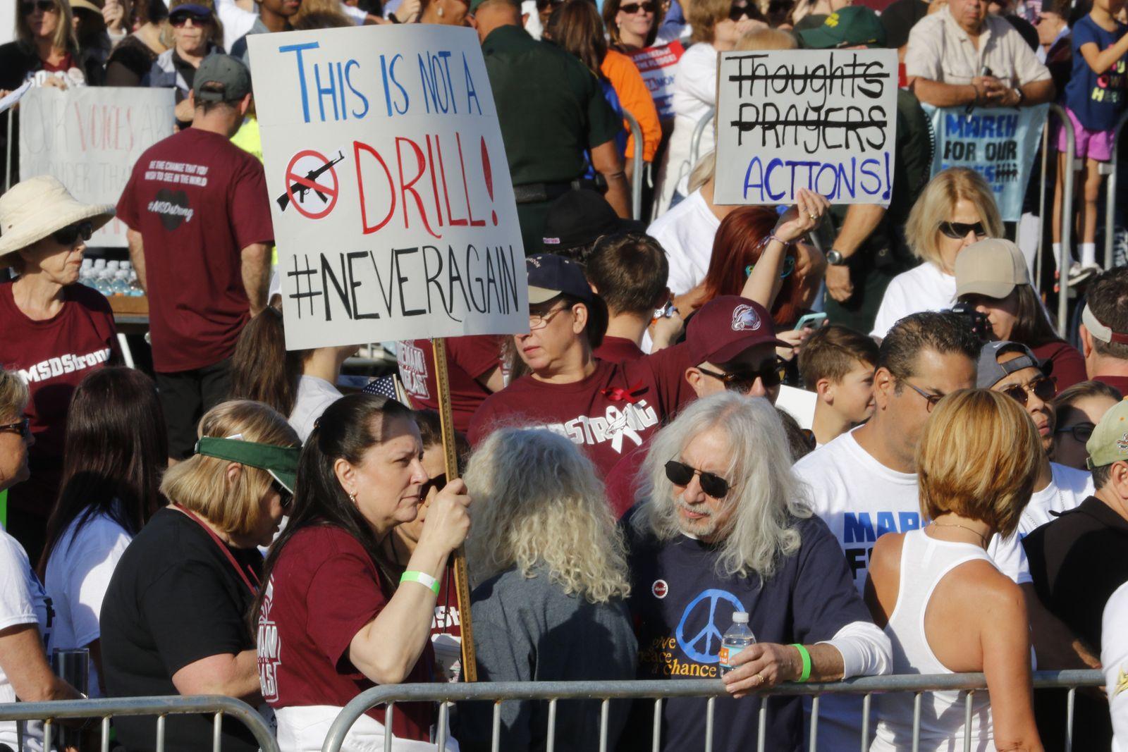 USA Anti-Waffen Proteste