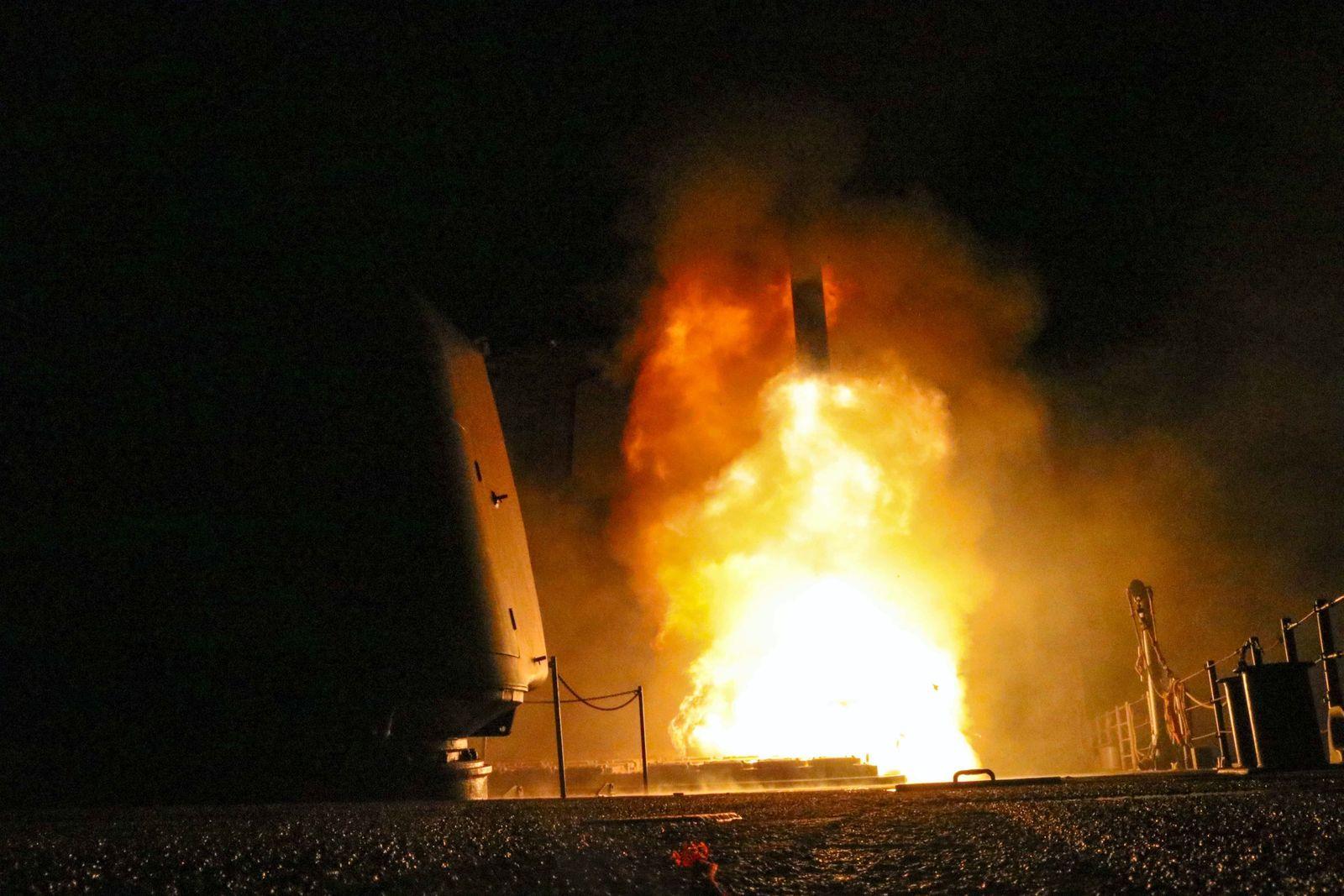 Dpa Syrien Angriff Usa