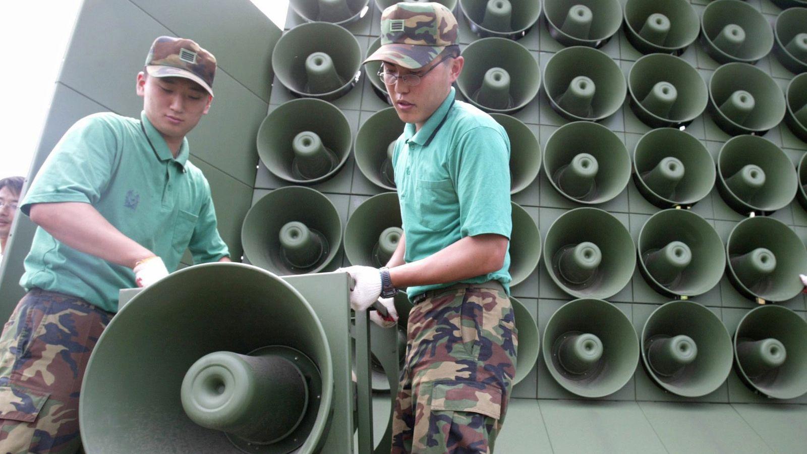 Lautsprecherbeschallung in Südkorea