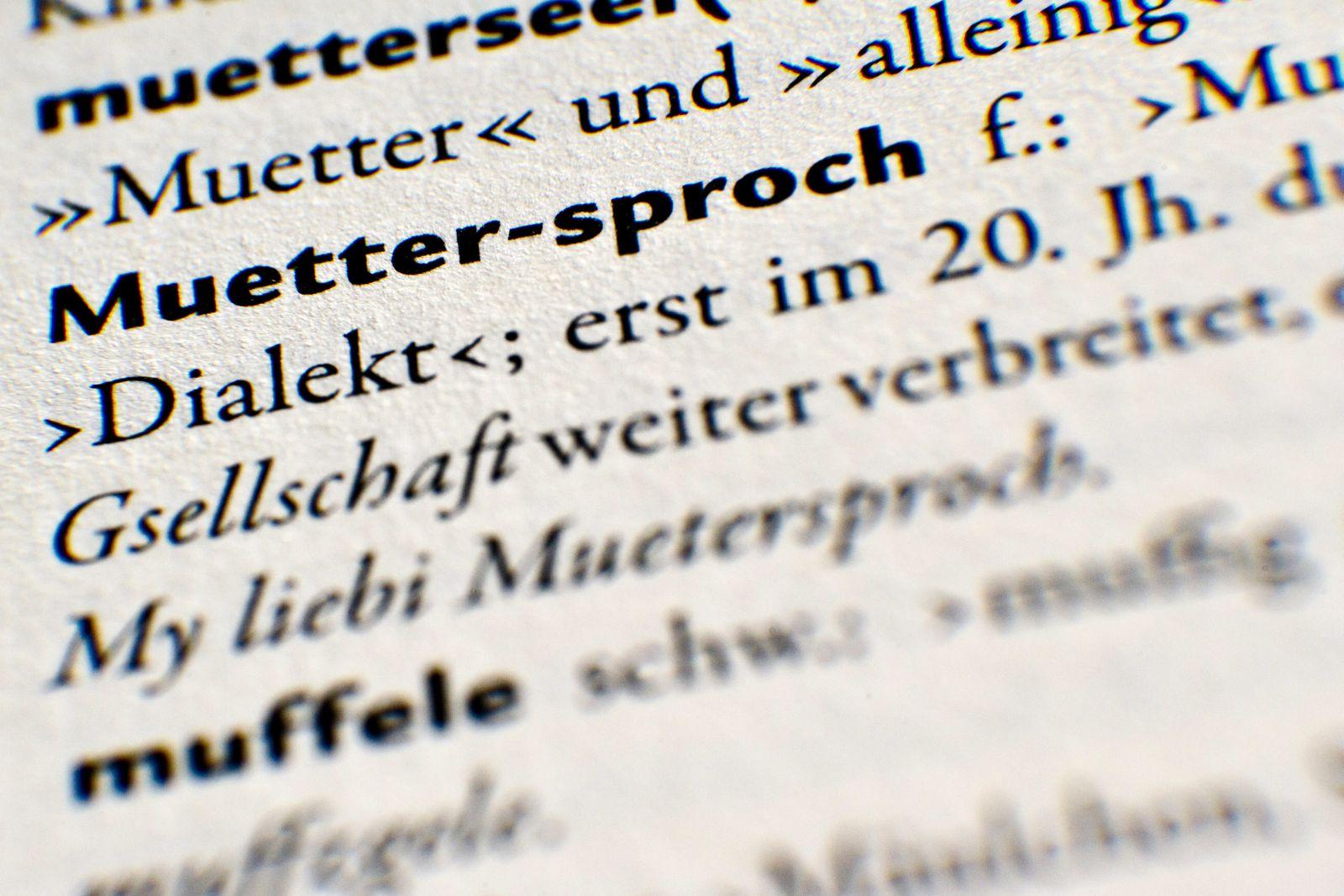 Sprache Woerterbuch