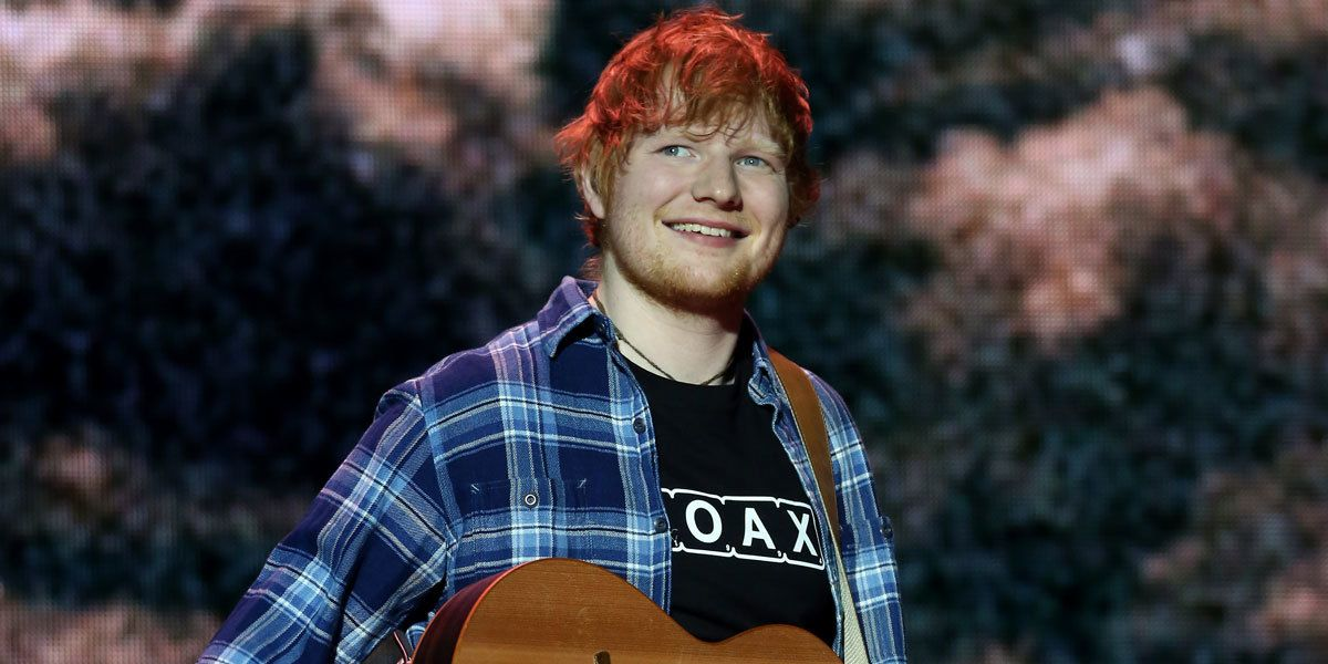 Ed Sheeran Baeume
