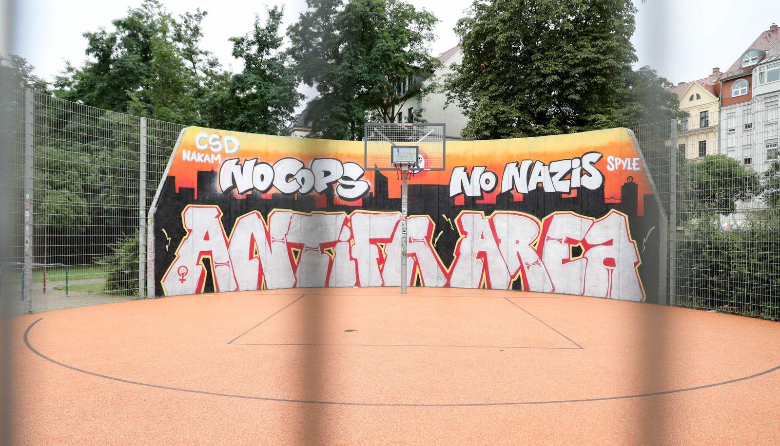 Graffiti Connewitz