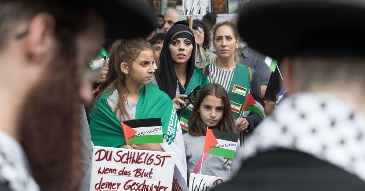 Quds Demo Aufmacher