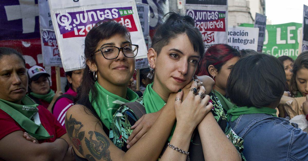 Argentinien Abtreibung Dpa