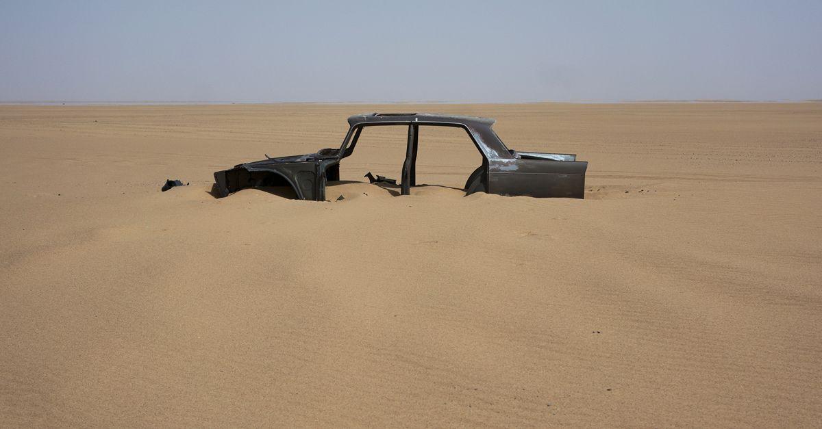Algerien Sahara Dpa