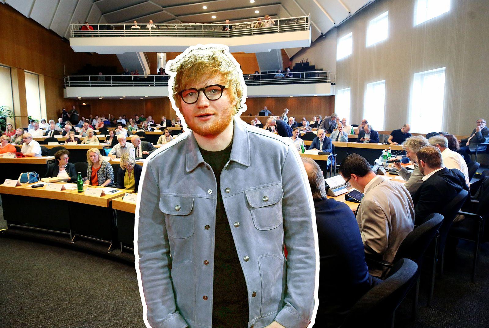 Ed Sheeran Duesseldorf