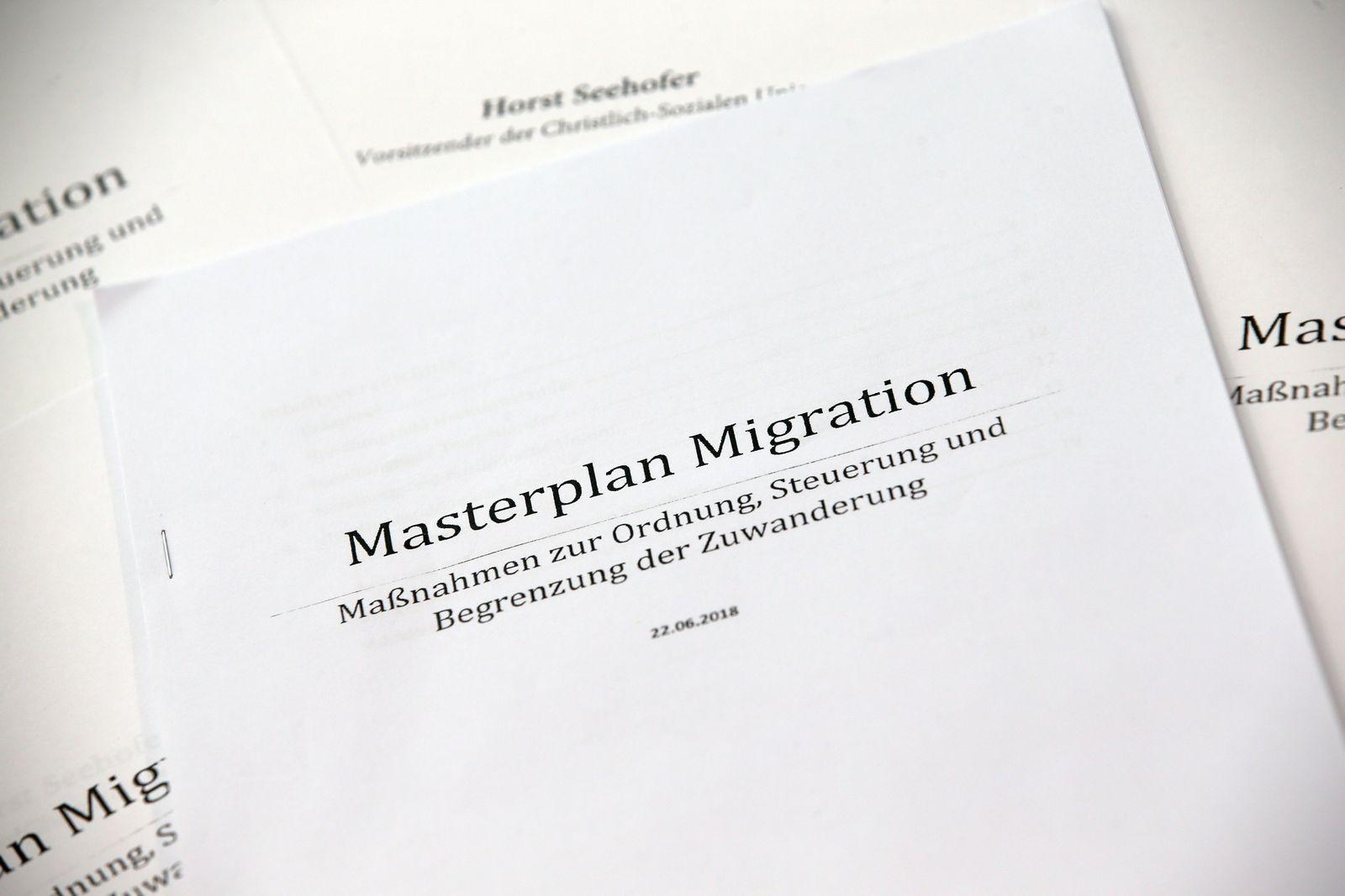 Masterplan Von Horst Seehofer Dokument Download