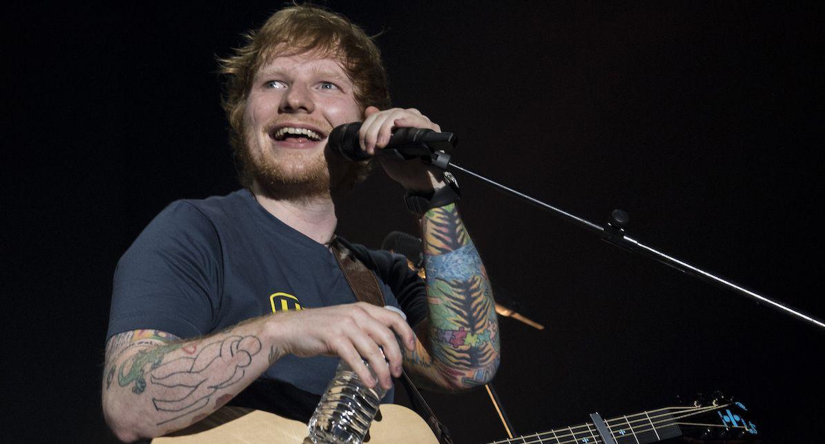 Ed Sheeran Hitze