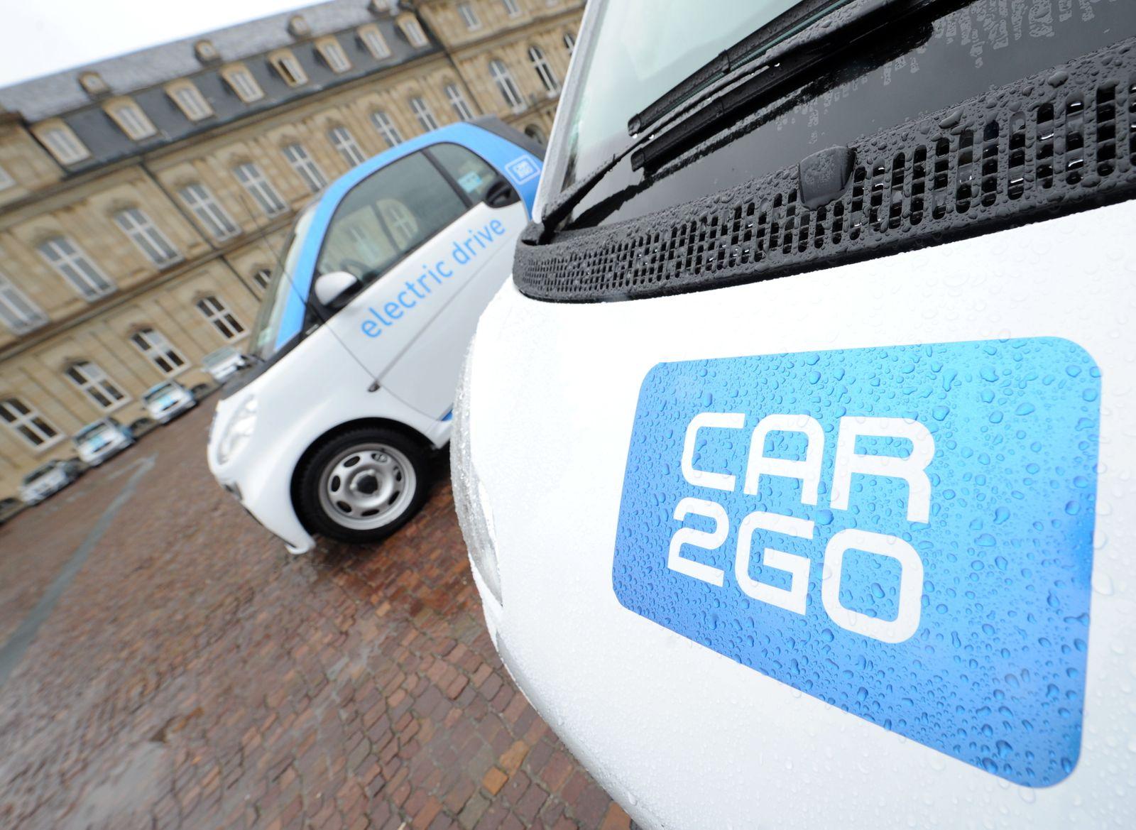 Carsharing Car2Go dpa