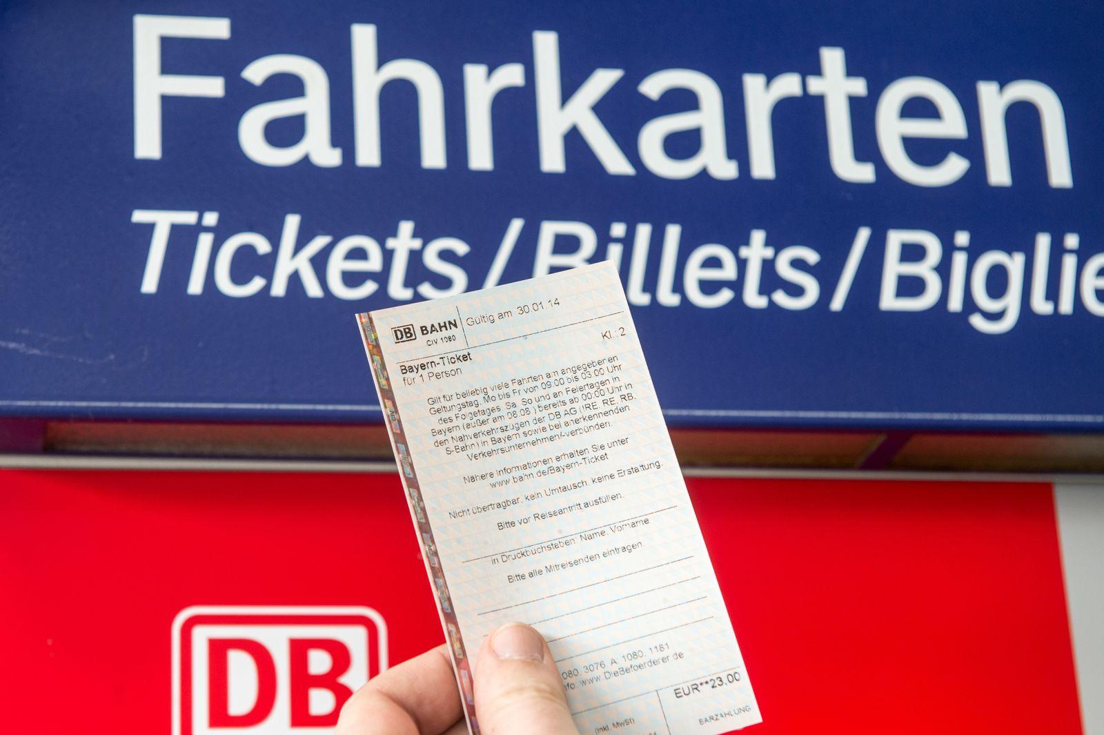 Bahn Ticket
