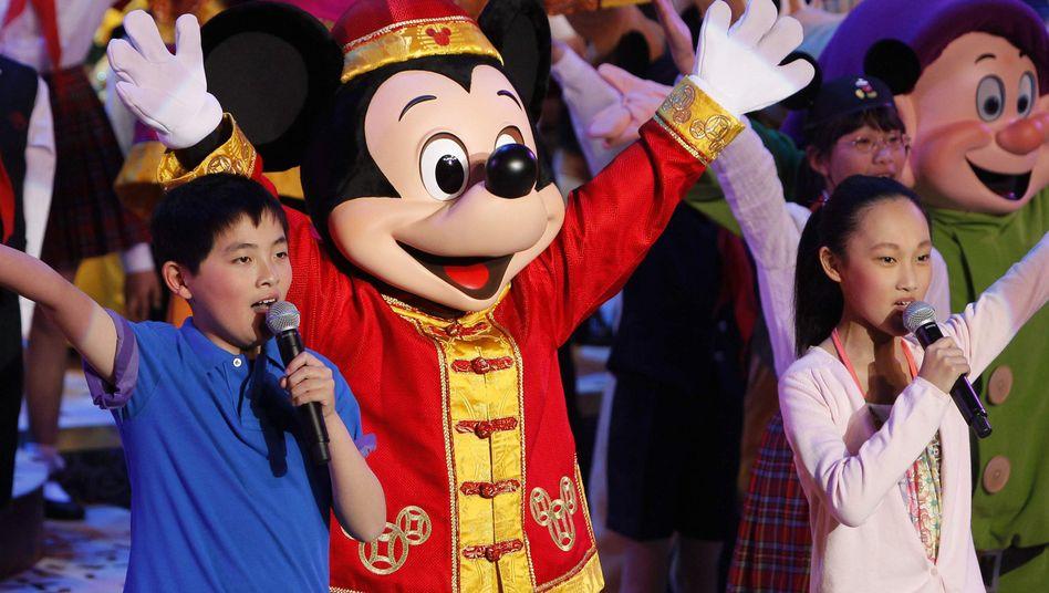 Disneyland Shanghai (Archivbild): Der Konzern bringt seine Figuren ins deutsche Free TV