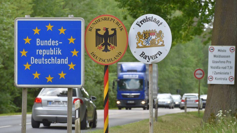 Deutschlands Grenze: Die meisten Ausweisungen kamen aus Baden-Württemberg, Nordrhein-Westfalen und Bayern