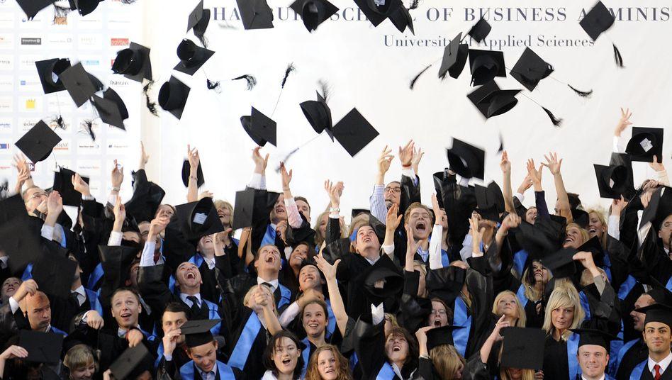 Hochschulabsolventen: Gute Nachrichten vom Arbeitsmarkt