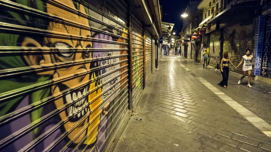 Athener Viertel Monastiraki: Angriff am Donnerstagabend