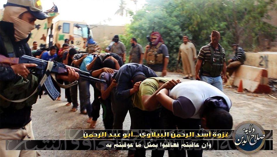 Hinrichtung durch IS-Miliz: Erschießungsvideo verbreitete sich in den sozialen Medien