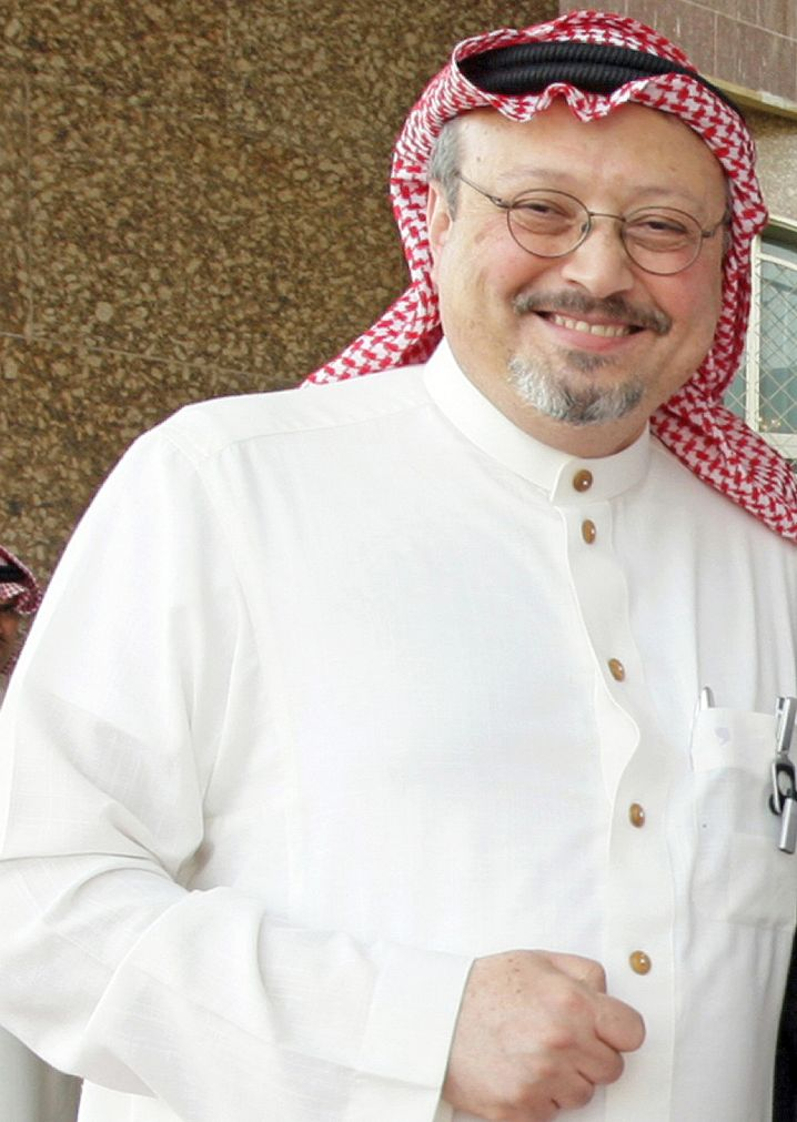 Jamal Khashoggi im Jahr 2010: weltweit geachtet