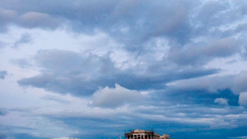 Akropolis in Athen: Keines der Ziele für 2011 erreicht