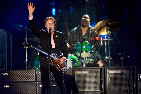 "Ex-Beatle McCartney: ""Jenseits der Piste"""