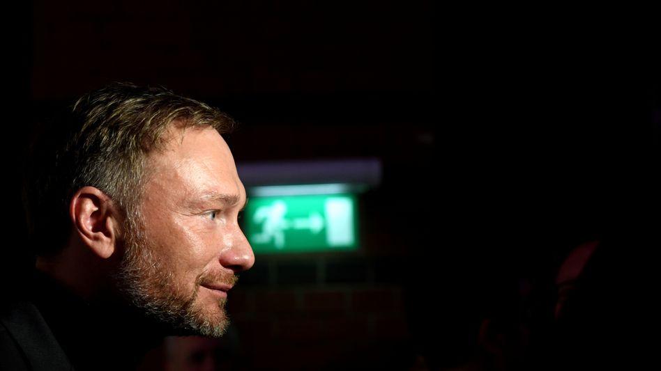 FDP-Chef Lindner: Wo ist der Ausgang?