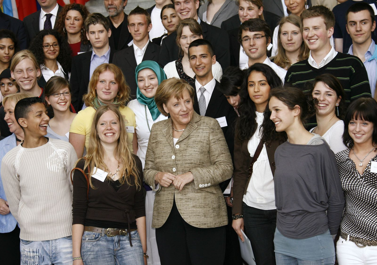 Jugendliche Merkel