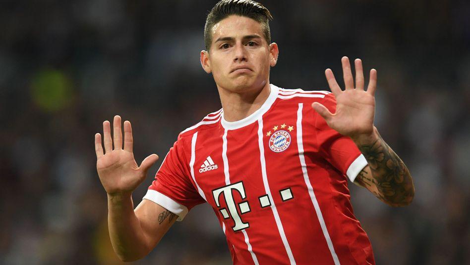 Bayern Münchens James