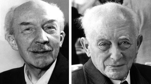 Nobelpreise Physik - Bothe Born