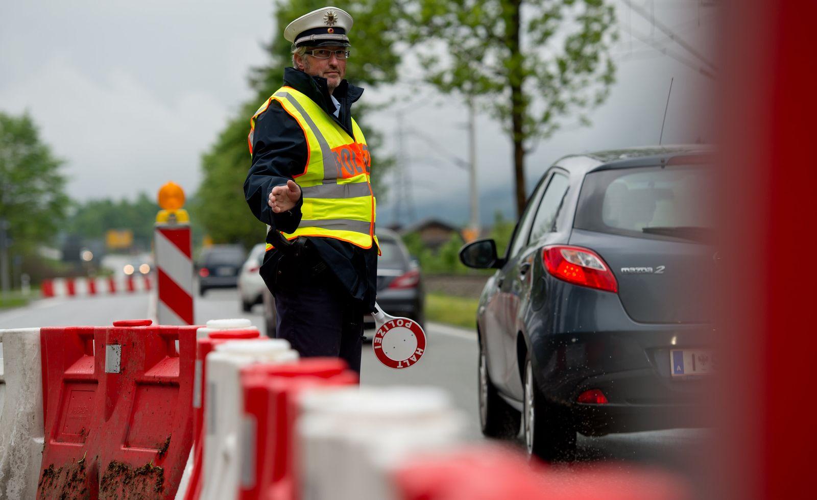 30 Jahre Schengen - Grenzkontrolle