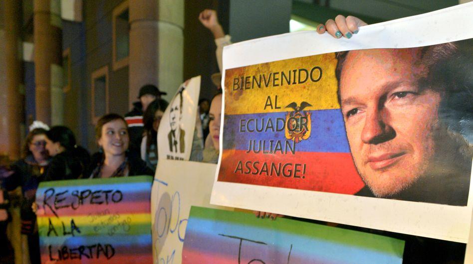 Ecuador granted political asylum to WikiLeaks founder Julian Assange on Thursday.