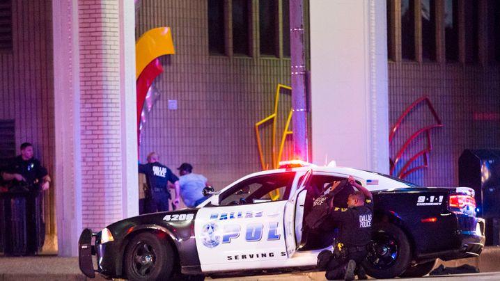 Tödliche Schüsse in Dallas: Eine blutige Nacht
