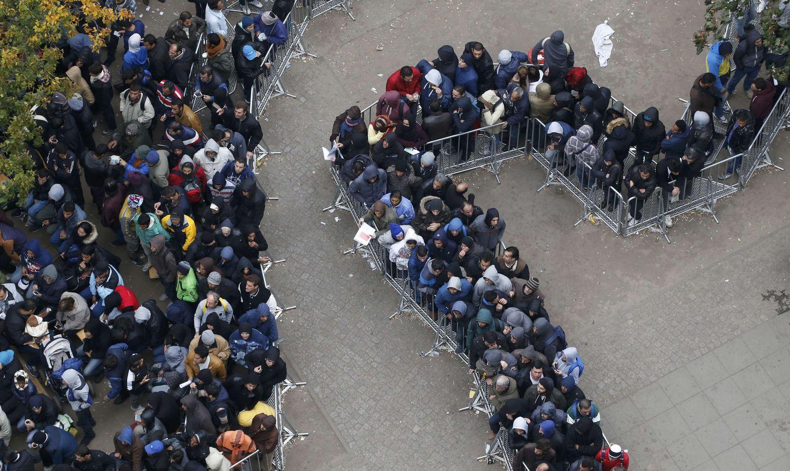 Willkommenskultur/ Flüchtlinge/ Berlin