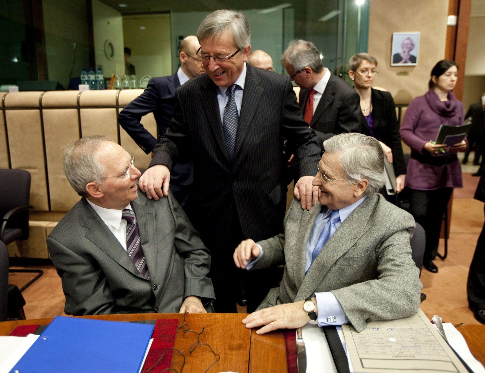 Schäuble Juncker Trichet