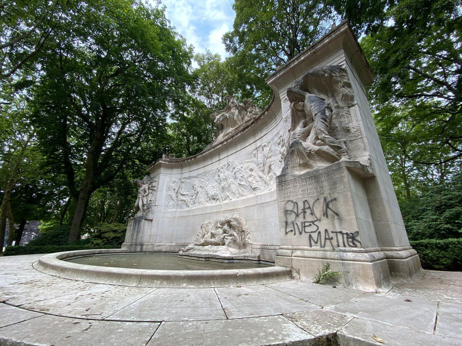 Monument du Congo im Jubelpark in Brüssel