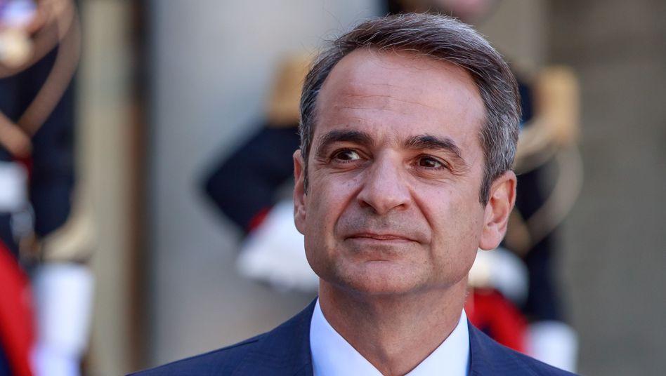 Kyriakos Mitsotakis: Eines seiner zentralen Wahlversprechen war die Lockerung der Sparpolitik
