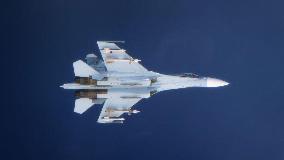 Russischer Su-27-Jet