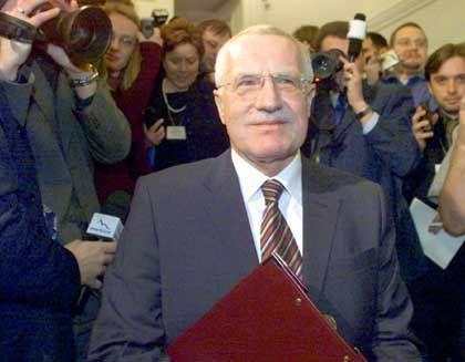 Vaclav Klaus galt als Ministerpräsident als großer Privatisierer