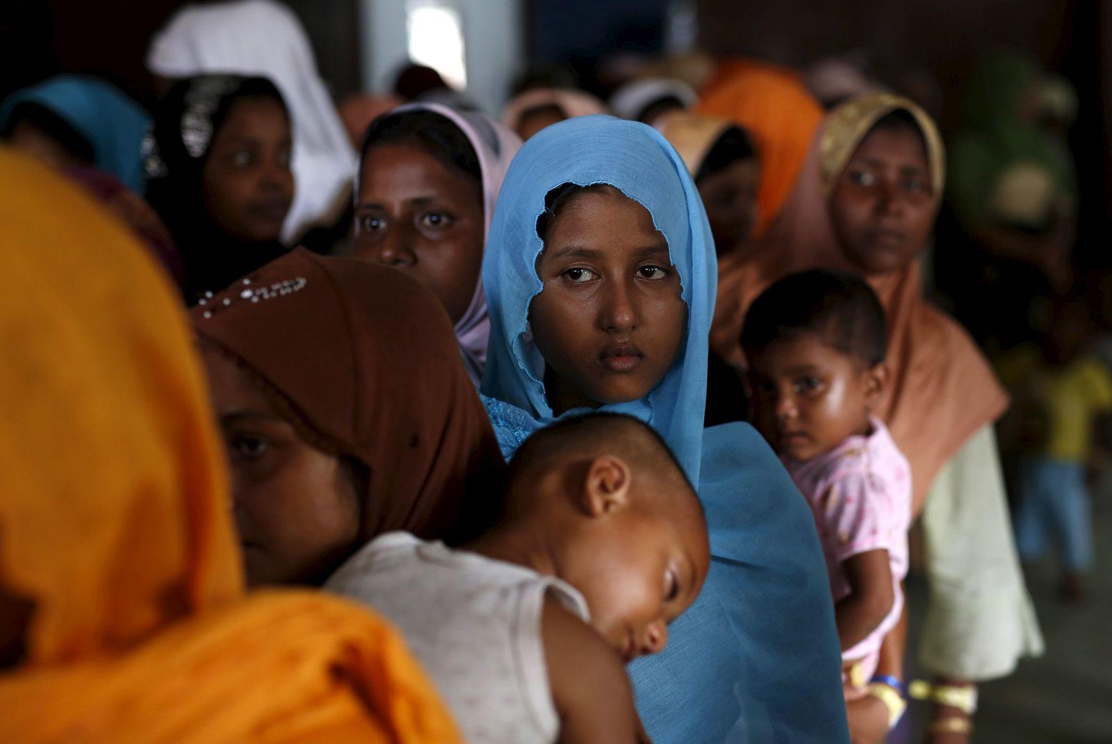 Rohingya Flüchtlinge in Indonesien