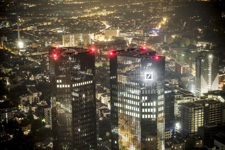 Finanzviertel in Frankfurt am Main