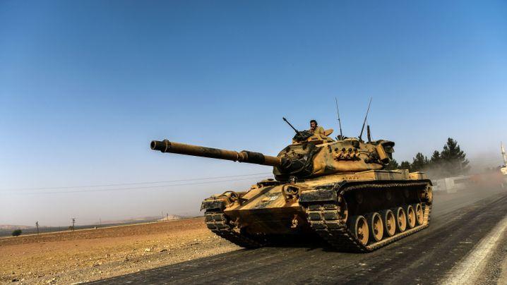 Türkische Panzer: Offensive in Syrien