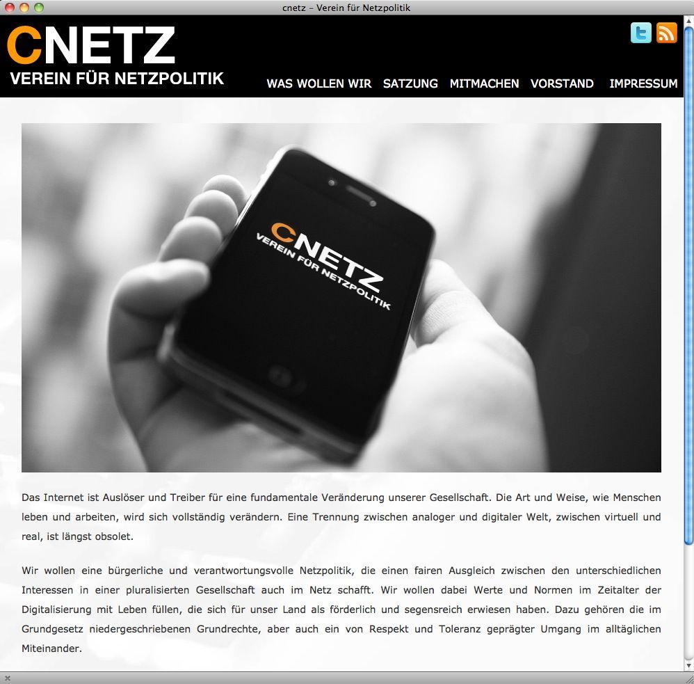 NUR ALS ZITAT Screenshot cnetz
