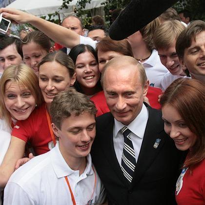 Präsident Putin nach IOC-Präsentation: Sieg für Russland