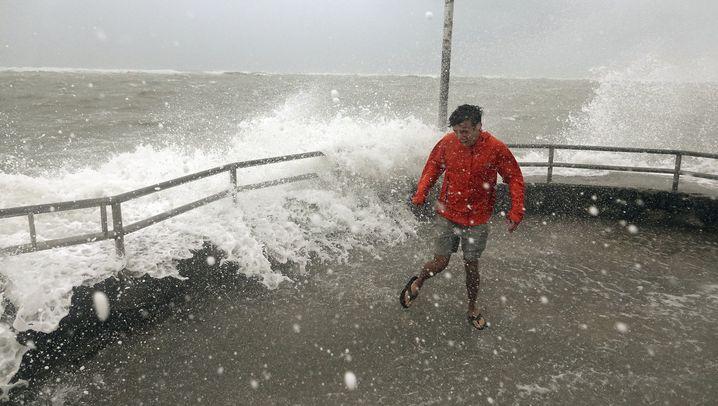 """Evakuierungen: Hurrikan """"Dorian"""" nimmt Kurs auf USA"""