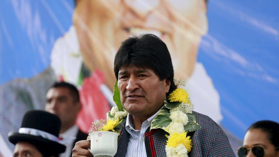 Evo Morales (Archivbild): Weitere rechtliche Schritte in seinem Heimatland eingeleitet