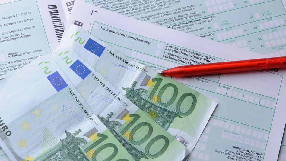 Geld zurück bei der Einkommensteuererklärung